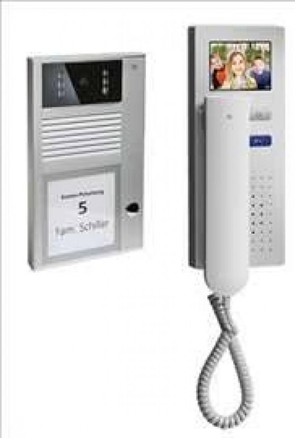 TCS EP04av-EN Interfonski komplet za 4 korisnika video