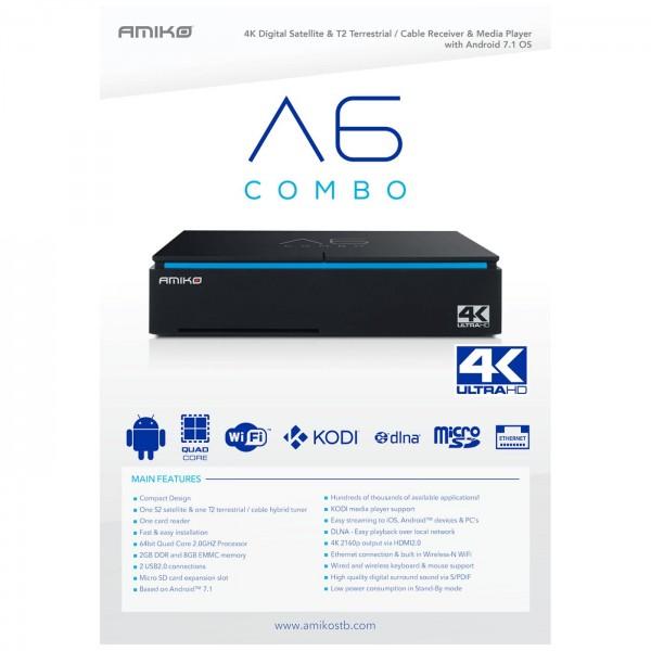 Amiko A6 COMBO