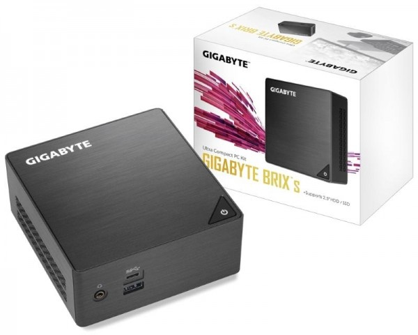 GIGABYTE GB-BLCE-4105 BRIX Mini PC Intel Quad Core J4105 1.50 GHz(2.50 GHz) 4GB 240GB