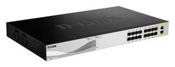 DLink Switch upravljivi optički 10Gb DXS-1100-16SC