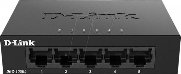 D-Link switch neupravljivi, DGS-105GLE
