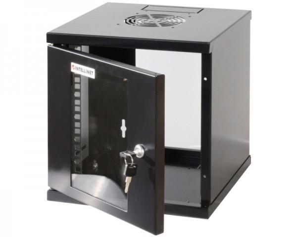 INTELLINET Wallmount Cabinet 6U Rek orman 10'' 300d crni