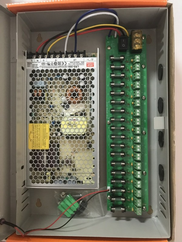 Ispravljac DC sa kljucem MW 17A 12V