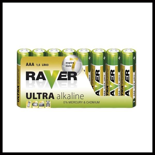 RAVER LR03/8 (AAA) baterije
