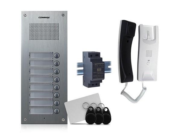 Audio za zgradu 8 stanova RFID