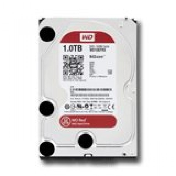 HDD NAS WESTERN DIGITAL Red (3.5'', 1TB, 64MB, SATA III-600) ( WD10EFRX )