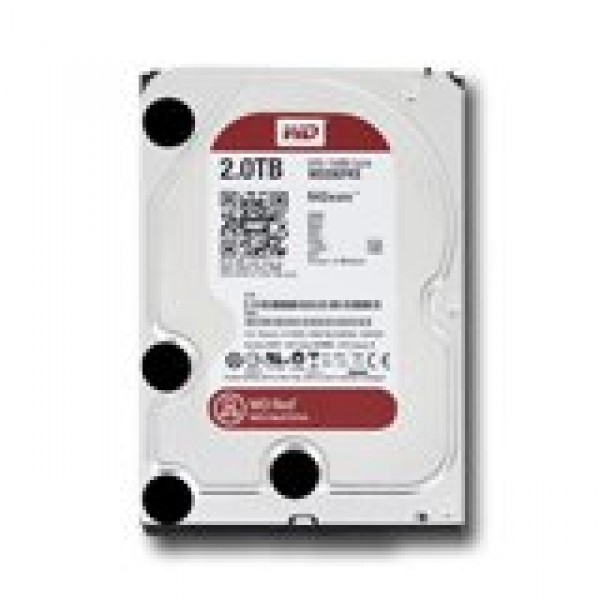 HDD NAS WESTERN DIGITAL Red (3.5'', 2TB, 64MB, SATA III-600) ( WD20EFRX )