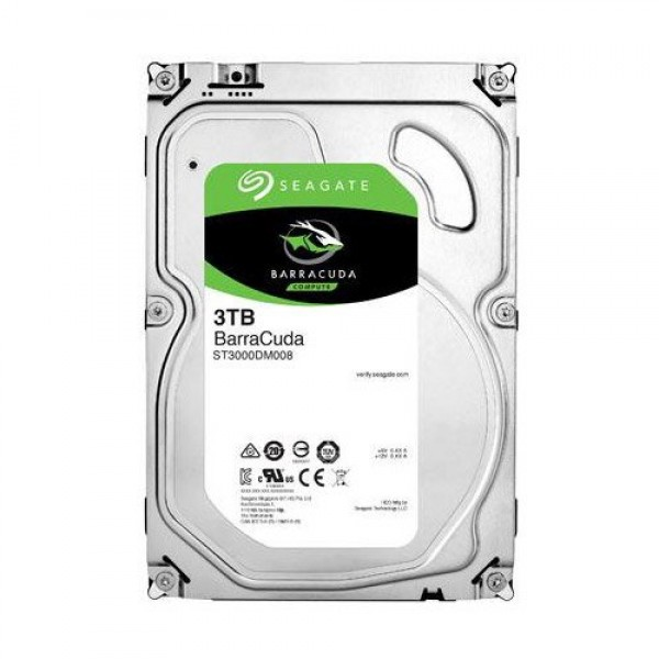 SEAGATE HDD Desktop Barracuda Guardian (3.5''3TBSATA 6Gbs) ( ST3000DM008 )