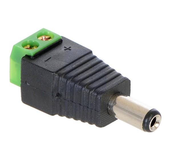 DC konektor muski