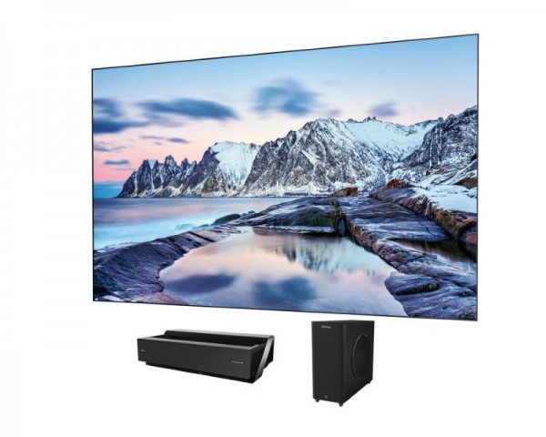 HISENSE 100'' H100LDA Smart 4K Ultra HD digital Laser TV + LTS100MHEU panel + VW6 zvučnici