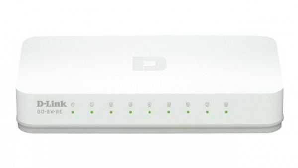 Switch 8-portni  D-Link GO-SW-8EE