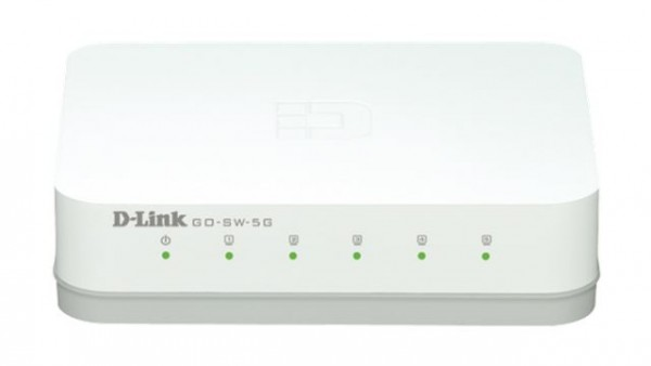 Switch 5-portni gigabitni D-Link GoSwitch5G