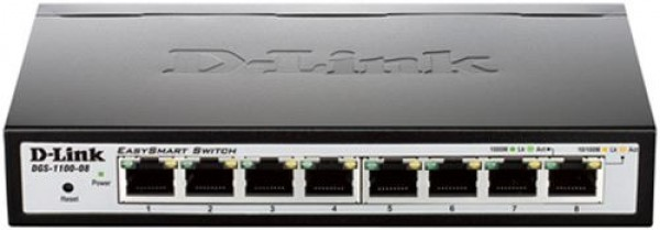 D-Link switch  web upravljivi, DGS-1100-08
