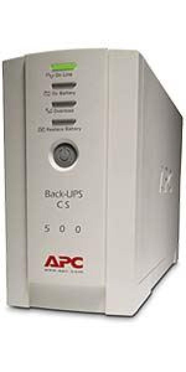 UPS APC BK500EI, Back-UPS CS 500VA