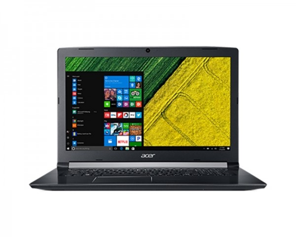 ACER Aspire A517-51G-34CN 17.3'' FHD Intel Core i3-7020U 2.3GHz 4GB 256GB SSD GeForce MX130 2GB crni