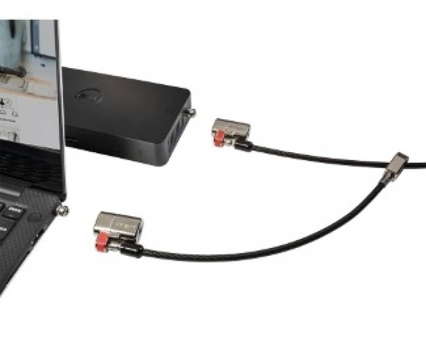 DELL Twin Clicksafe lock for All Dell Security slots