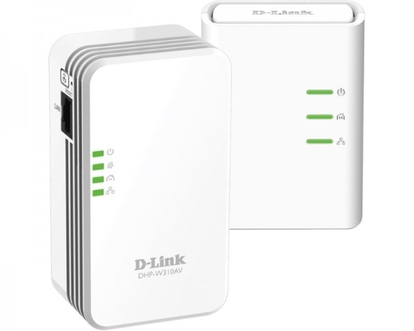 D-LINK DHP-W311AV PowerLine AV 500 Wireless N Mini starter Kit -G