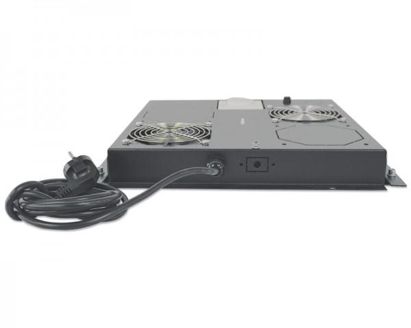 INTELLINET Ventilation Unit 2-Fan za 19'' Racks crni (712859)