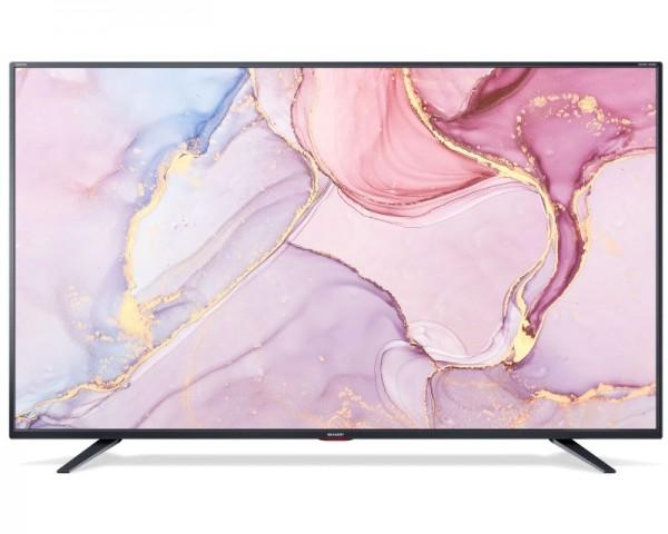 SHARP 55'' 4T-C55BJ5EF2NB Smart 4K Ultra HD digital LED TV
