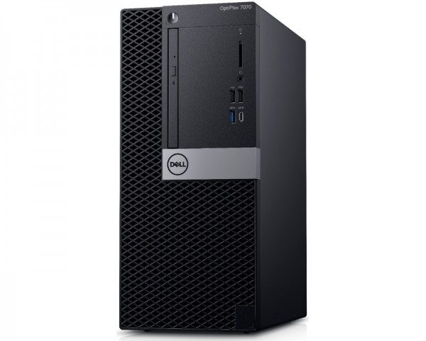 DELL OptiPlex 7070 MT i5-9500 8GB 256GB SSD DVDRW Win10Pro64bit 3yr NBD