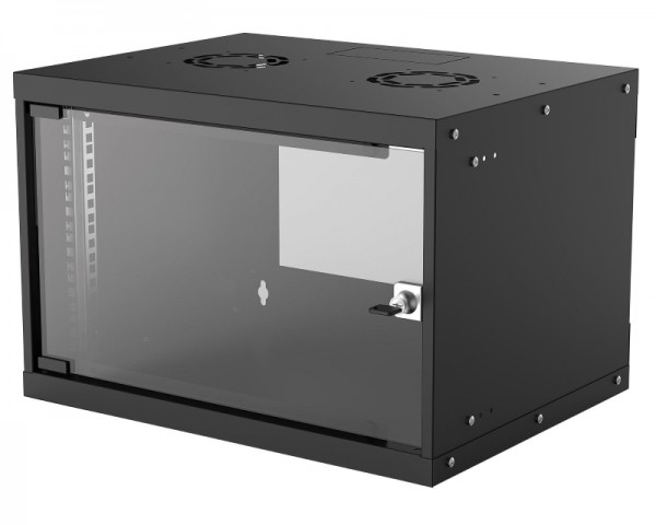 INTELLINET Wallmount Cabinet 6U Rek orman 19'' 400d crni
