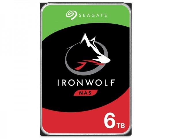SEAGATE 6TB 3.5'' SATA III 256MB ST6000VN001 IronWolf NAS