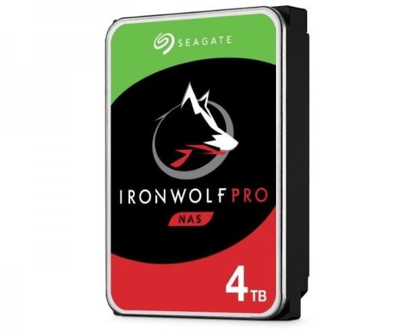 SEAGATE 4TB 3.5'' SATA III 128MB 7.200 ST4000NE001 IronWolf Pro