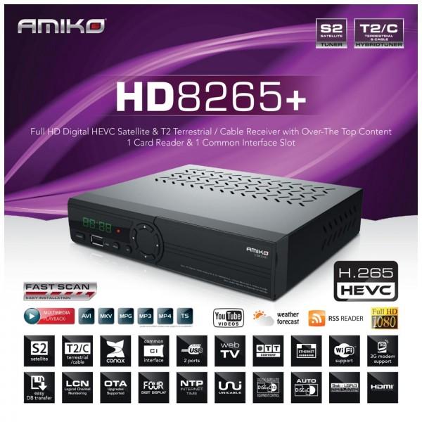 Amiko HD-8265+