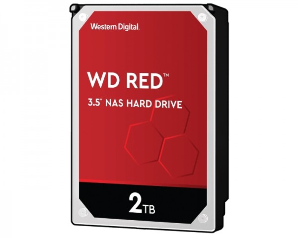 WD 2TB 3.5'' SATA III 64MB IntelliPower WD20EFAX Red