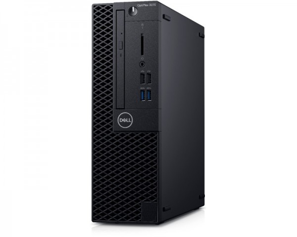DELL OptiPlex 3070 SF i3-9100 4GB 1TB DVDRW Ubuntu 3yr NBD