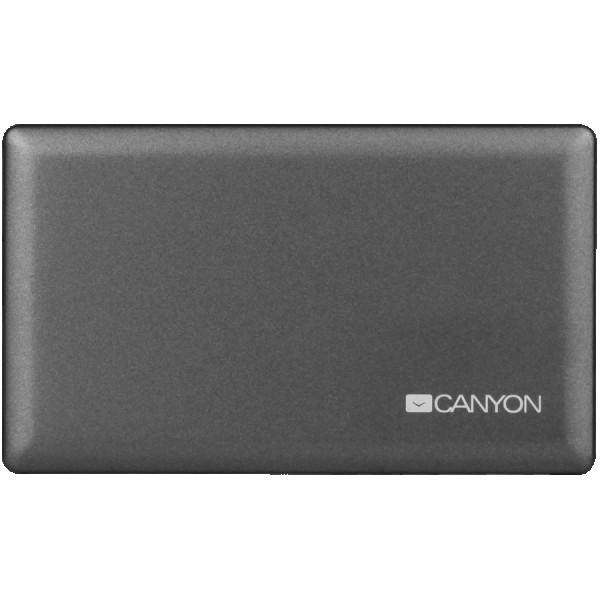 CANYON CardReader All in one CNE-CARD2 (CFmicro SDSDSDHCSDXCMSXdM2) USB 2.0, Gray ( CNE-CARD2 )