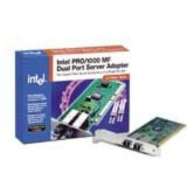 INTEL Network Card PRO1000 MF Dual Port Server Adapter Network Adapter (1000Base-SX, 1000Mbps, Gigabit Ethernet, PCI-X), 1-pk ( PWLA8492MFB