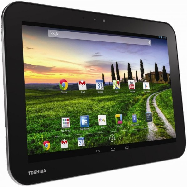 Toshiba Excite AT10-A-104, 10.1'' WXGA 300 CSVTouch, nVIDIA Tegra T30SL, 12core GPU, 1GB(onboard), eMMC 16G, WiFi 11 agn, BT, 3.0M and 1.2M