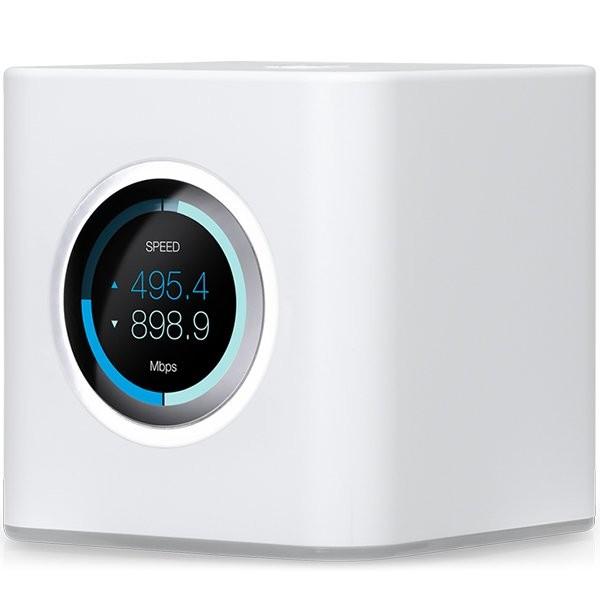 Ubiquiti AmpliFI HD Mesh Router, Dual-Band 802.11AC 3X3 MIMO Wi-Fi, Wi-FiGigabit Ethernet (1) WAN, (4) LAN, 802.11ac 13 Mbps to 1300 Mbps,6