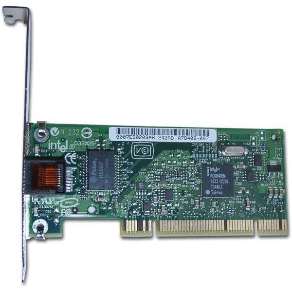 Network Interface Card INTEL PRO1000 PT Dual-Port Server Adapter (PCI Express, 10Base-T100Base-TX1000Base-T, Ethernet, 2 ports) Bulk ( EXPI