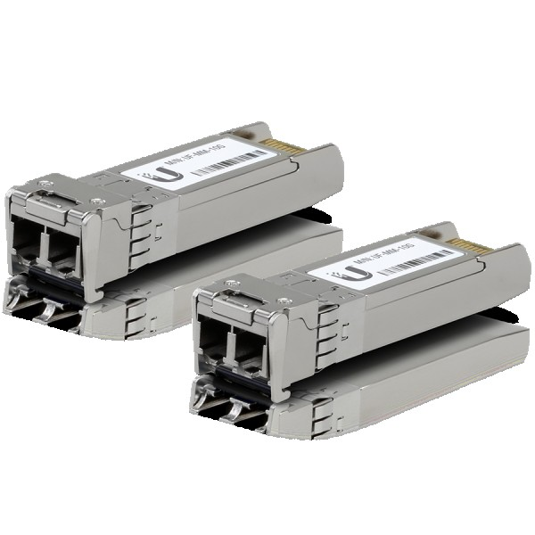 U Fiber, Multi-Mode Module, 10G, 2-Pack UF-MM-10G Ubiquiti ( UF-MM-10G )