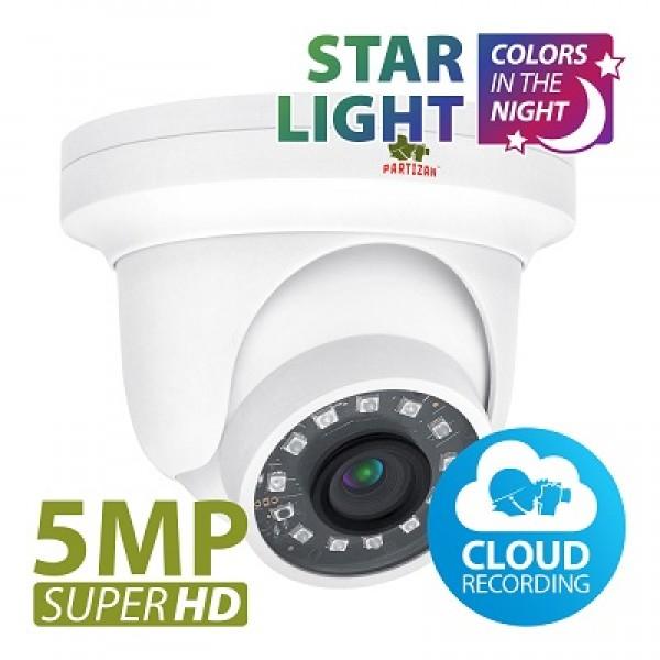 IPD-5SP-IR starlight kamera 5MP