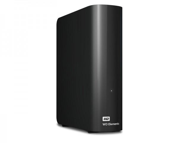 WD Elements Desktop 8TB 3.5'' crni eksterni hard disk WDBWLG0080HBK