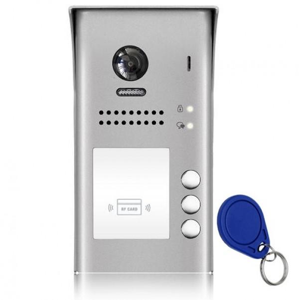 Poz. tabla 2-žična RFID za 3 stana, nazidna