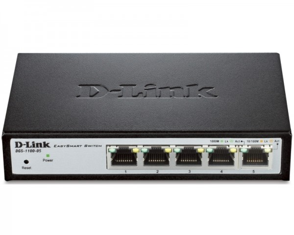D-LINK DGS-1100-05 5port EasySmart switch