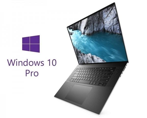 DELL XPS 9700 17'' FHD+ 500nits i7-10750H 16GB 1TB SSD GeForce GTX 1650Ti 4GB Backlit FP Win10Pro srebrni 5Y5B