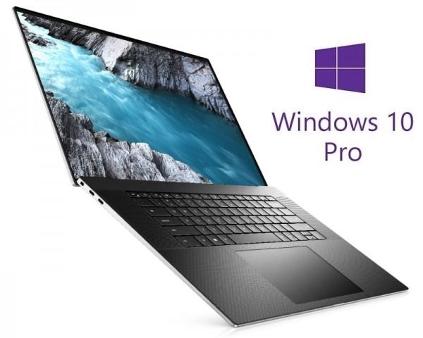 DELL XPS 9700 17'' 4K UHD+ Touch 500nits i7-10750H 32GB 2TB SSD GeForce GTX 1650Ti 4GB Backlit FP Win10Pro srebrni 5Y5B