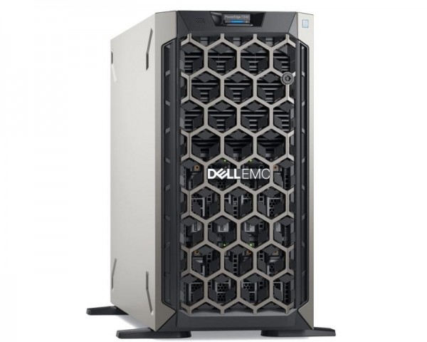 DELL PowerEdge T340 Xeon E-2224 4C 1x16GB H330 1TB SATA DVDRW 495W (1+0) 3yr NBD