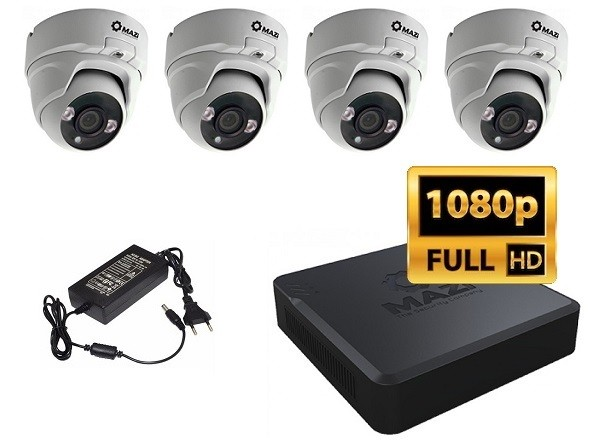 FullHD IP set sa 4 kamere MAZi