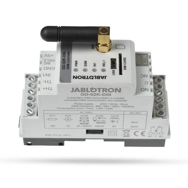 Industrijski Jablotron GSM komunikator GD-02K-DIN